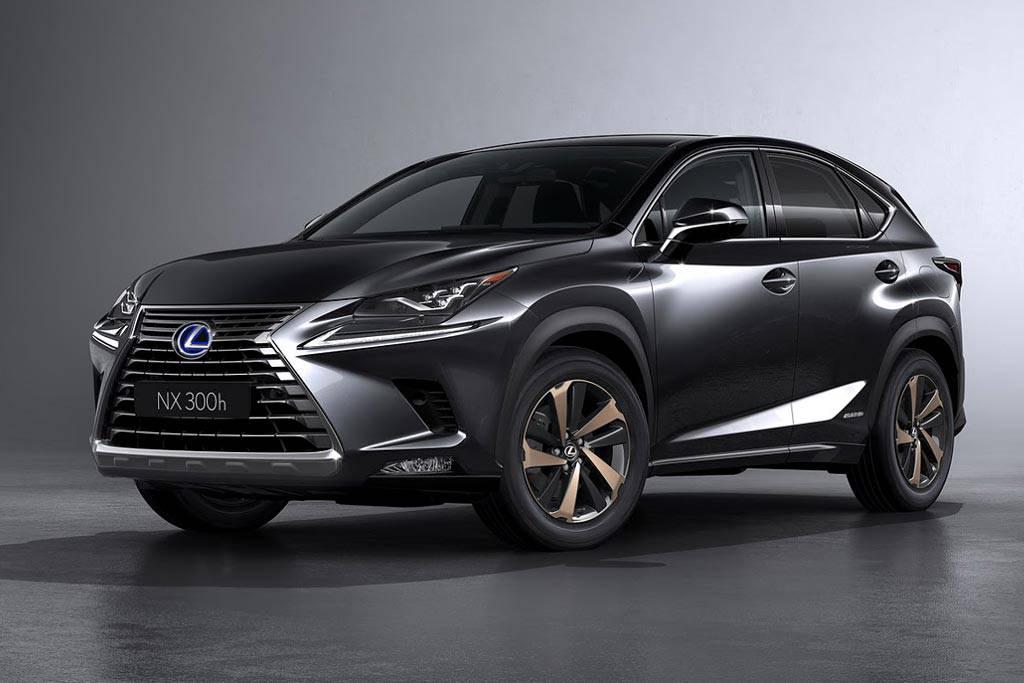 картинки обновленного кроссовера Lexus NX 2017-2018 года