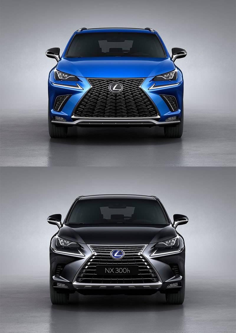 фото Lexus NX 2017-2018 года вид спереди