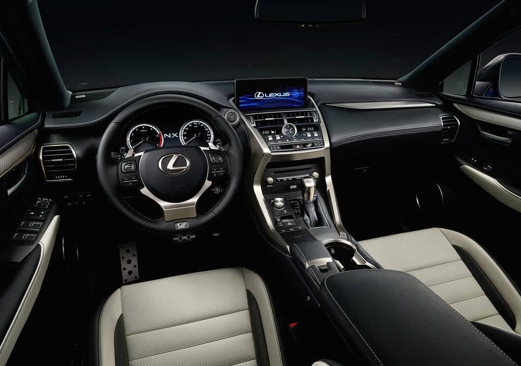 фото салона Lexus NX 2017-2018 года