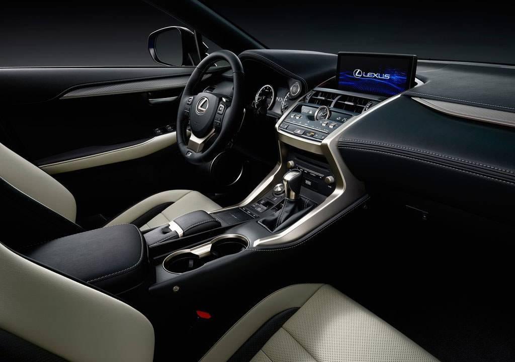 фото интерьера Lexus NX 2017-2018 года
