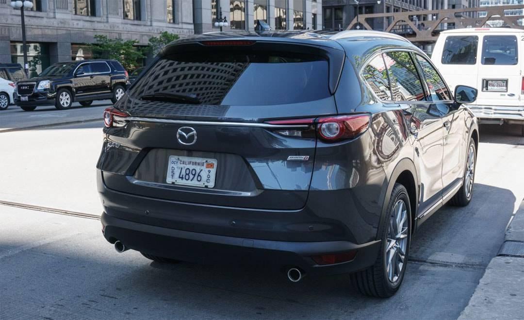 новый кроссовер Mazda CX-8