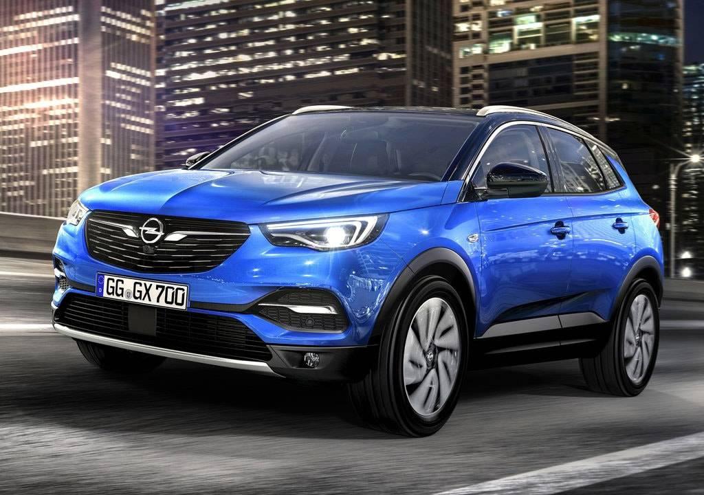 фото Opel Grandland X 2017-2018 года вид спереди