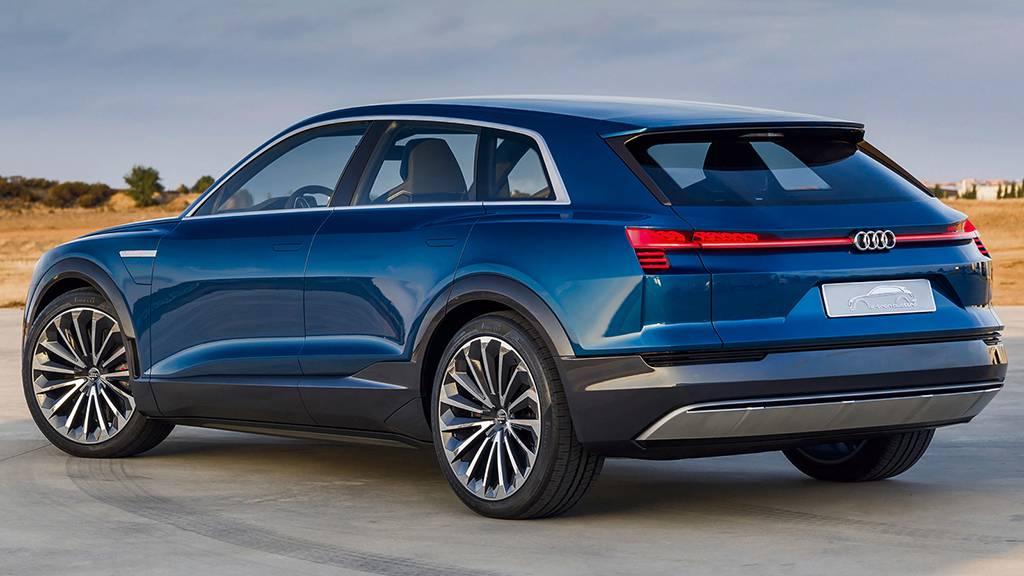электрокроссовер премиум-класса Audi Q6 E-Tron Quattro 2017-2018