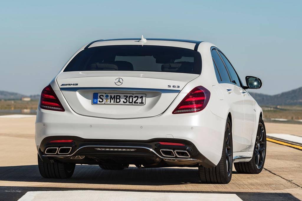 Mercedes-AMG S63 в кузове W222