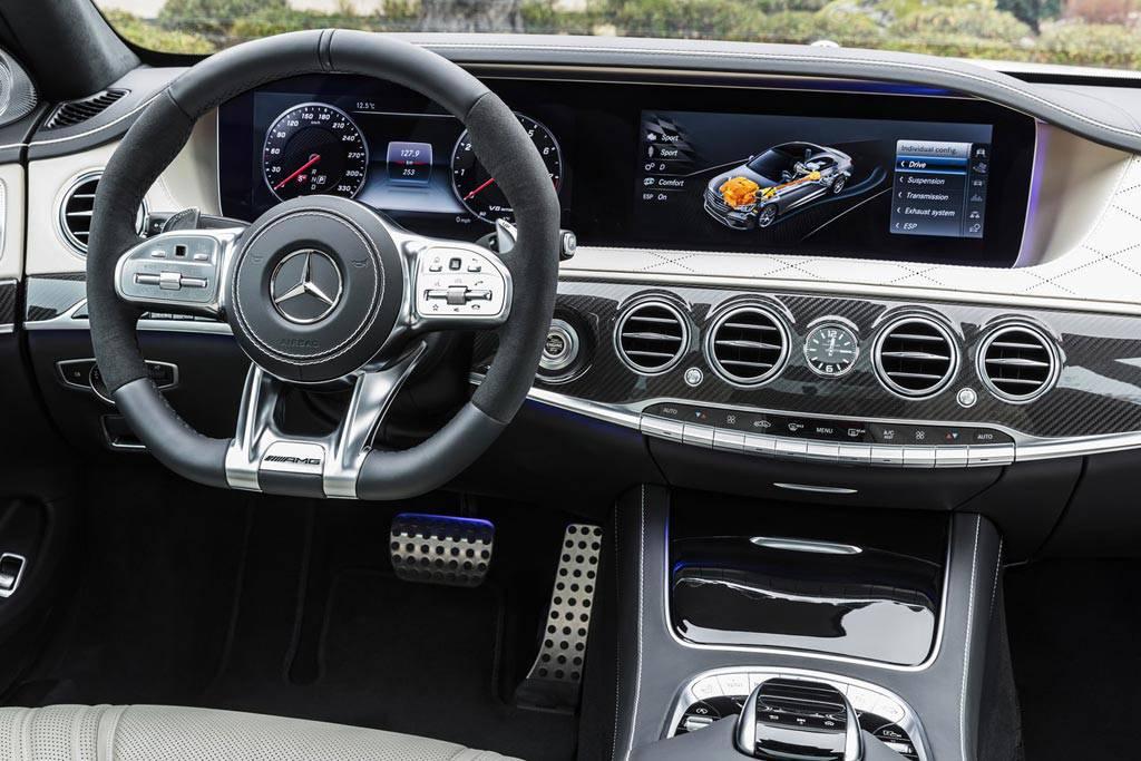 обновленный салон Mercedes-AMG S63