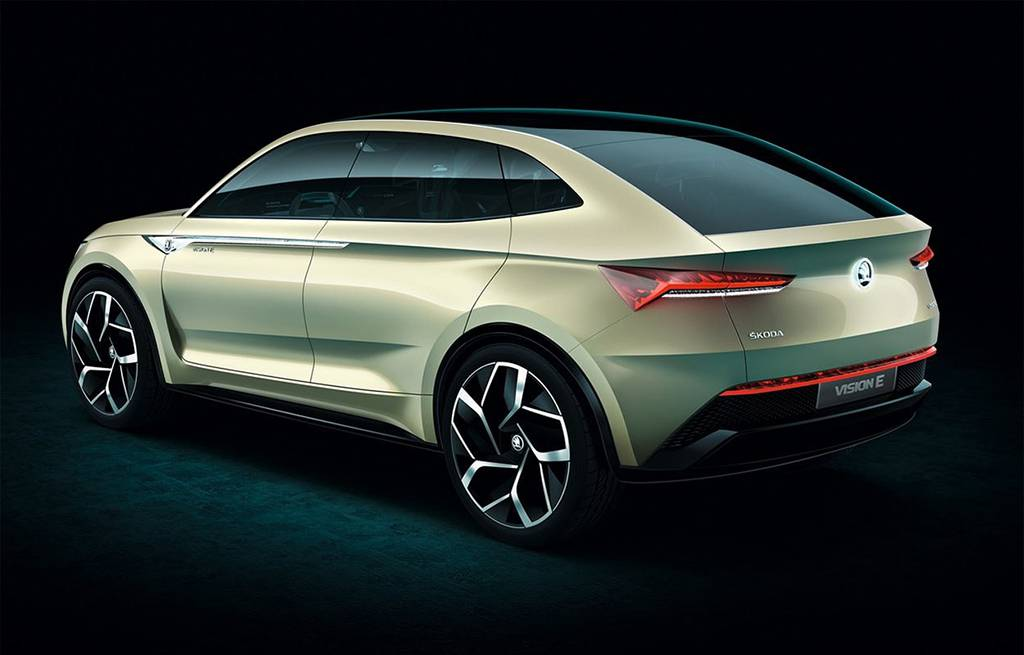 картинки Skoda Vision E Concept 2017-2018 года