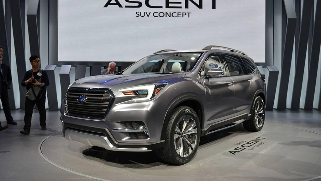 фото Subaru Ascent SUV Concept 2017