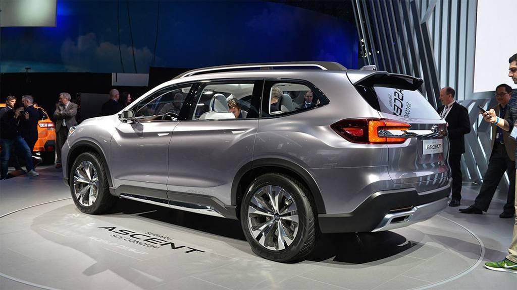 картинки Subaru Ascent SUV Concept 2017