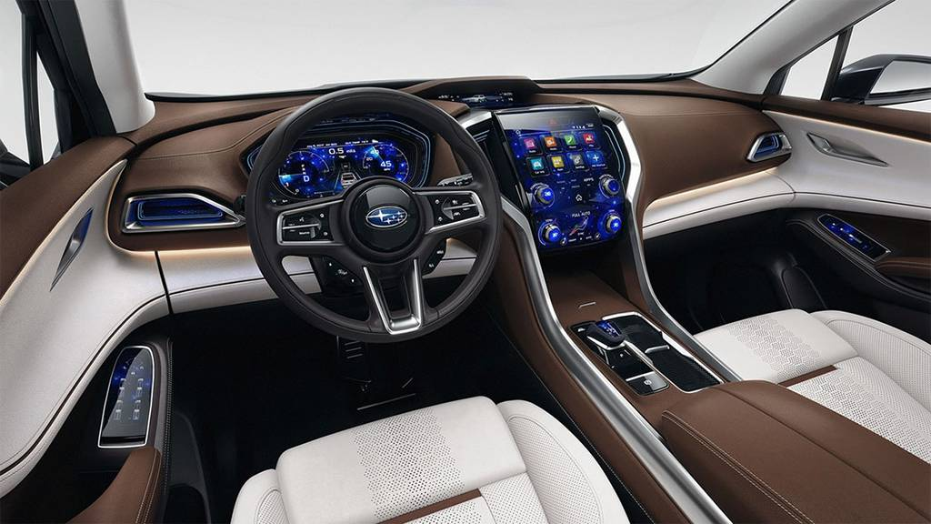фото салона Subaru Ascent SUV Concept 2017