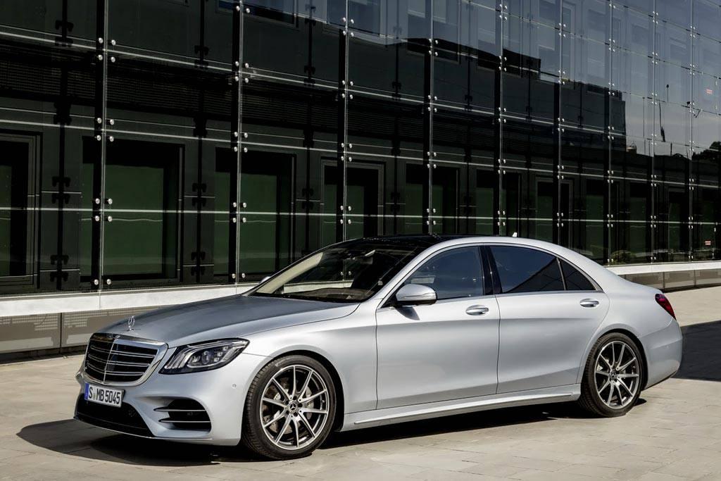 обновленный Mercedes S-Class 2017-2018 года