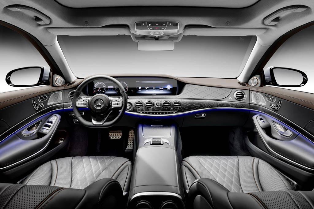 фото салона Mercedes S-Class 2017-2018 года